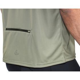 Löffler Flow Half-Zip Fahrrad Shirt Herren olive